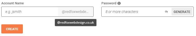 bespoke email domain